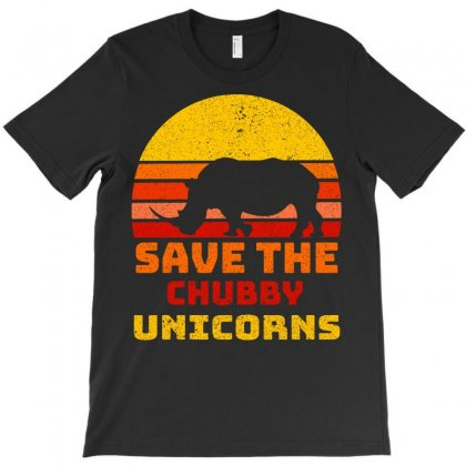 Save The Chubby Unicorns T-shirt Designed By Omer Acar