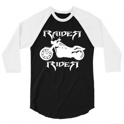 Raider 3/4 Sleeve Shirt Designed By Markshop
