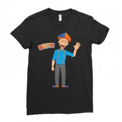kids cartoon blippi t shirt Ladies Fitted T-Shirt | Artistshot