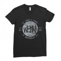 webn lunatic fringe est 67 Ladies Fitted T-Shirt | Artistshot