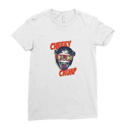 Cheeky Chimp Ladies Fitted T-shirt Designed By Samantha