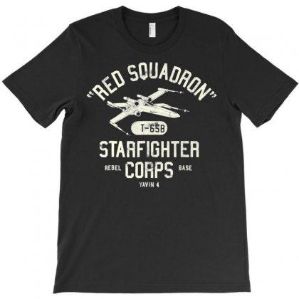 Rebel X Wing Starfighter Corps Collegiate T Shirt T-shirt Designed By Nhan
