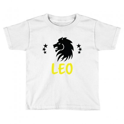 Leo Zodiac Toddler T-shirt Designed By Emardesign