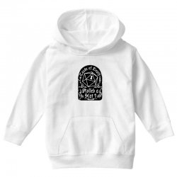 cause of death rolled a nat Youth Hoodie | Artistshot