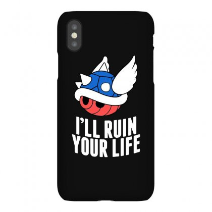 Blue Shell Will Ruin Your Life Iphonex Case Designed By Syakirra