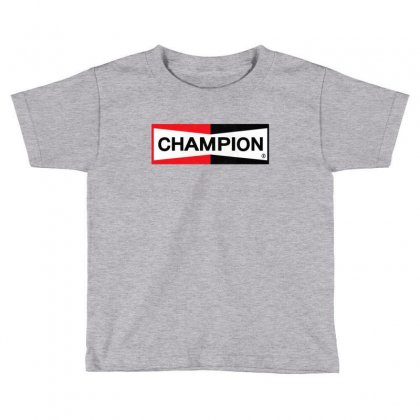 Champion Merch Toddler T-shirt Designed By Agus Loli