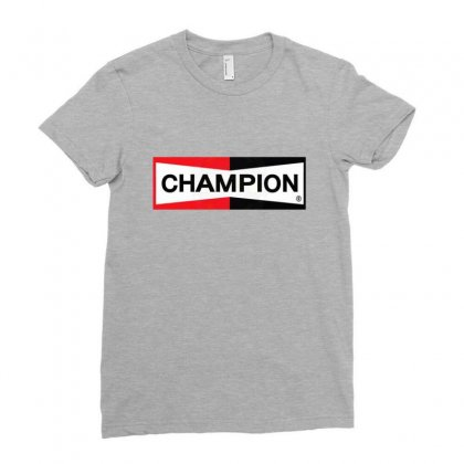 Champion Merch Ladies Fitted T-shirt Designed By Agus Loli