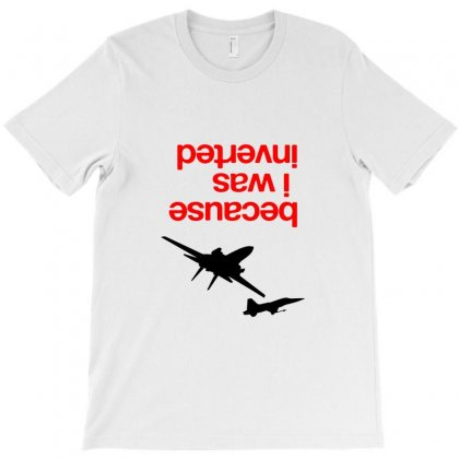 Because I Was Inverted Merch T-shirt Designed By Agus Loli