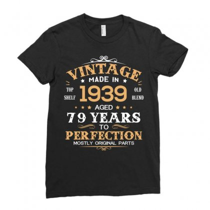 1939 Ladies Fitted T-shirt Designed By Hung
