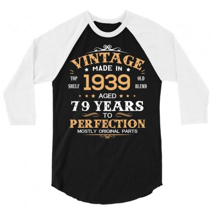 1939 3/4 Sleeve Shirt Designed By Hung