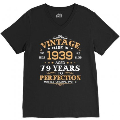 1939 V-neck Tee Designed By Hung