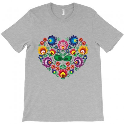 Heart Of Nature T-shirt Designed By Ming