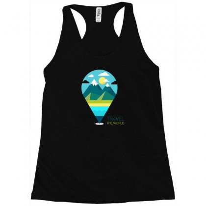 Travel Iii Racerback Tank Designed By Z3ni