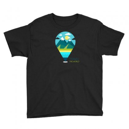 Travel Iii Youth Tee Designed By Z3ni