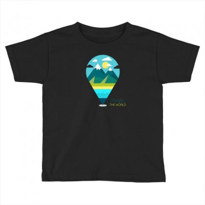 Travel Iii Toddler T-shirt Designed By Z3ni