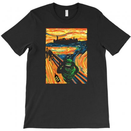 Scream T-shirt Designed By Disgus_thing