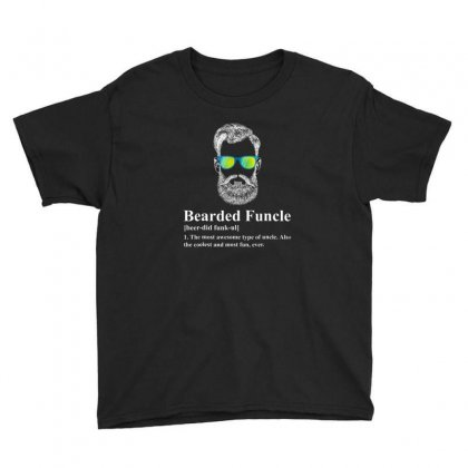 Beard Youth Tee Designed By Disgus_thing