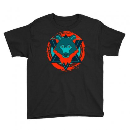 Fox Art Youth Tee Designed By Planetshirts