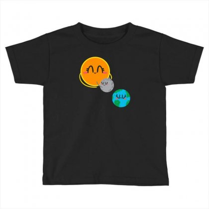 Eclipse Toddler T-shirt Designed By Z3ni