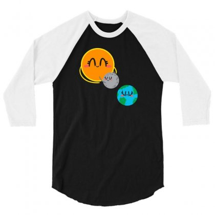 Eclipse 3/4 Sleeve Shirt Designed By Z3ni