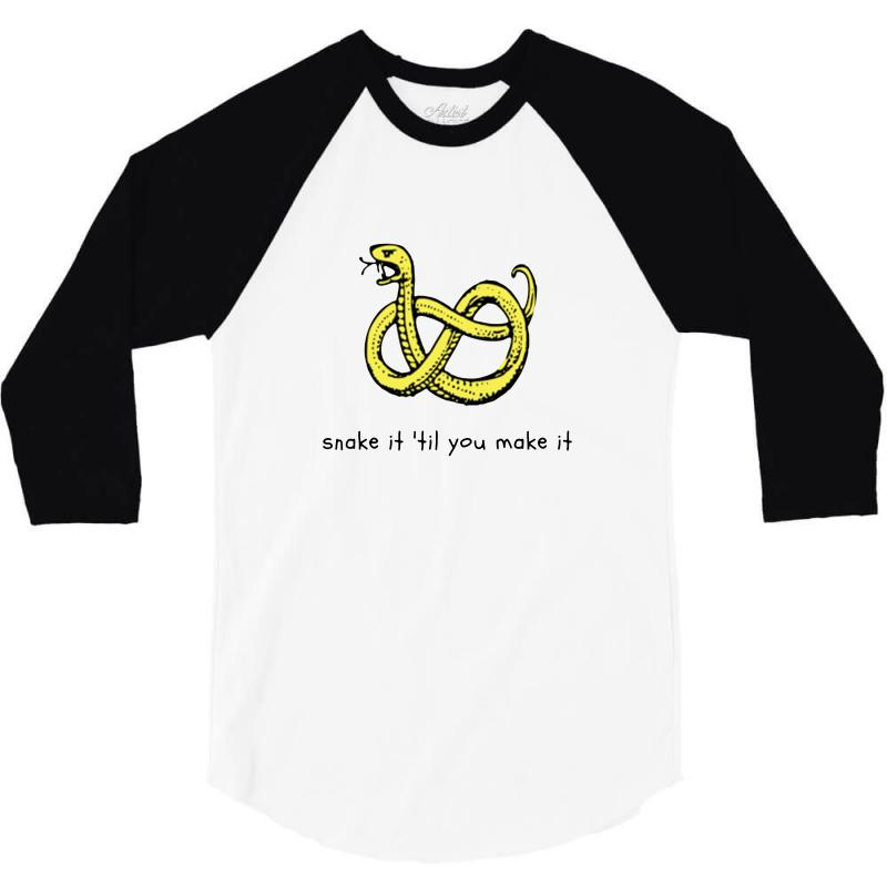 There Make Be Snakes 3/4 Sleeve Shirt | Artistshot