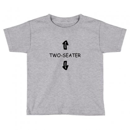 Two Seater Toddler T-shirt Designed By Ahmadjufriyanto