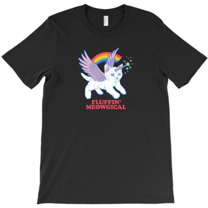 Fluffin' Meowgical T-shirt Designed By Z3ni