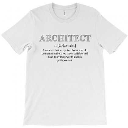 Architect Dictionary For Light T-shirt Designed By Akin