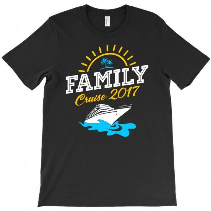 Family Cruise Vacation 2017 T-shirt Designed By Shadowart