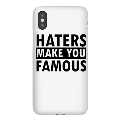 Famous Haters Gift Tees Iphonex Case Designed By Cogentprint