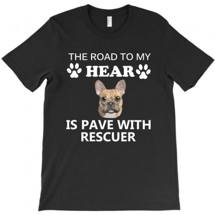 Dog Breed Rescuer T-shirt Designed By Cogentprint