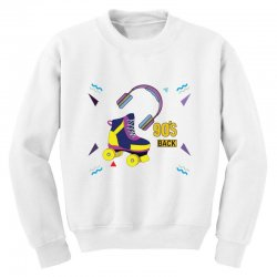Back to 90's Youth Sweatshirt | Artistshot