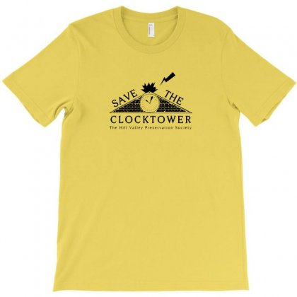 Save The Clock Tower Merch T-shirt Designed By Ratna Tier