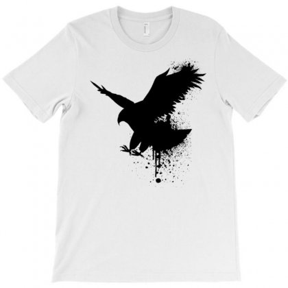 The Fly Of Eagle Means The Freedom T-shirt Designed By Noura.mo