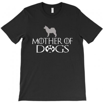 Mother Of Dogs T-shirt Designed By Picisan75