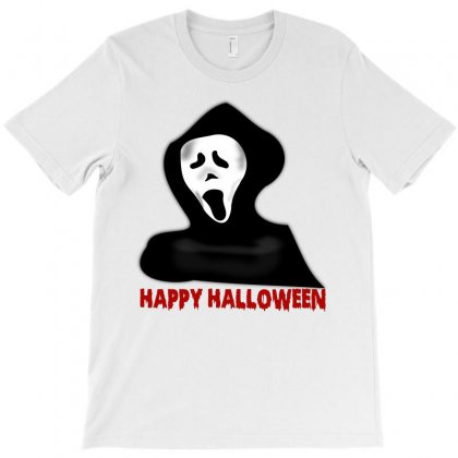Happy Halloween T-shirt Designed By Amber Petty