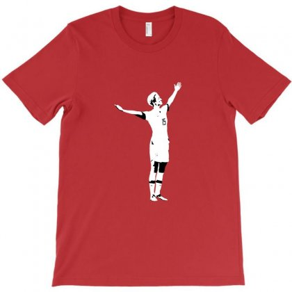 Megan Victory Pose T-shirt Designed By Erickthohir