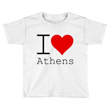 I Love Athens Toddler T-shirt Designed By Perfect Designers