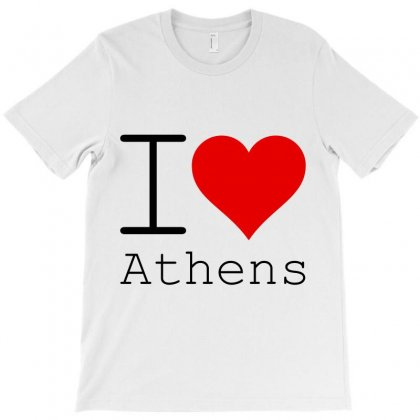 I Love Athens T-shirt Designed By Perfect Designers