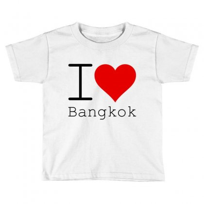 I Love Bangkok Toddler T-shirt Designed By Perfect Designers