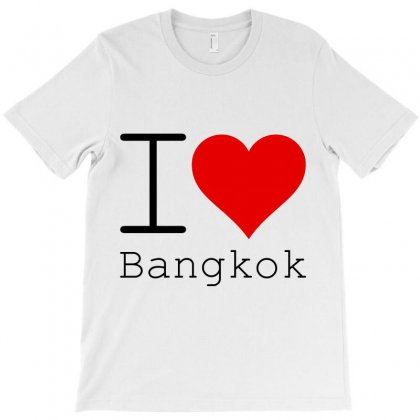 I Love Bangkok T-shirt Designed By Perfect Designers