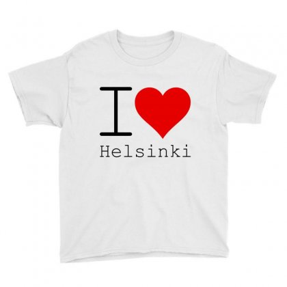 I Love Helsinki Youth Tee Designed By Perfect Designers