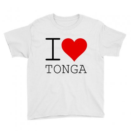 I Love Tonga Youth Tee Designed By Perfect Designers