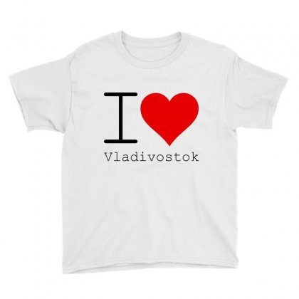 I Love Vladivostok Youth Tee Designed By Perfect Designers