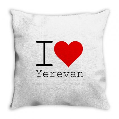 I Love Yerevan Throw Pillow Designed By Perfect Designers
