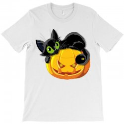 Halloween Pumpkin T-shirt Designed By Amber Petty