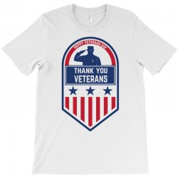Happy Veterans Day T-shirt Designed By Amber Petty