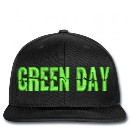 Green Day Еmbroidered Нat Snapback Designed By Madhatter