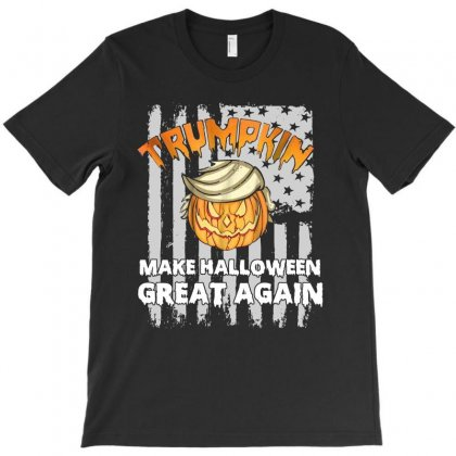 Trumpkin Make Halloween Great Again Funny T Shirt T-shirt Designed By Hung