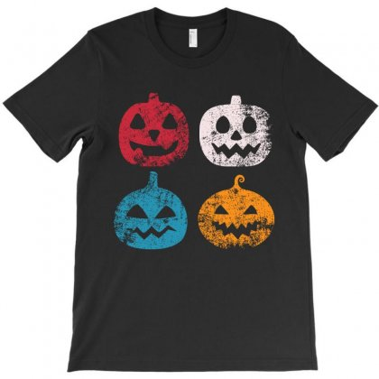 Pumpkin Icon Halloween Funny T Shirt T-shirt Designed By Hung